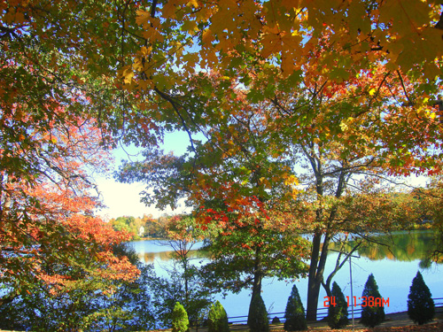 Fall at Crystal Lake